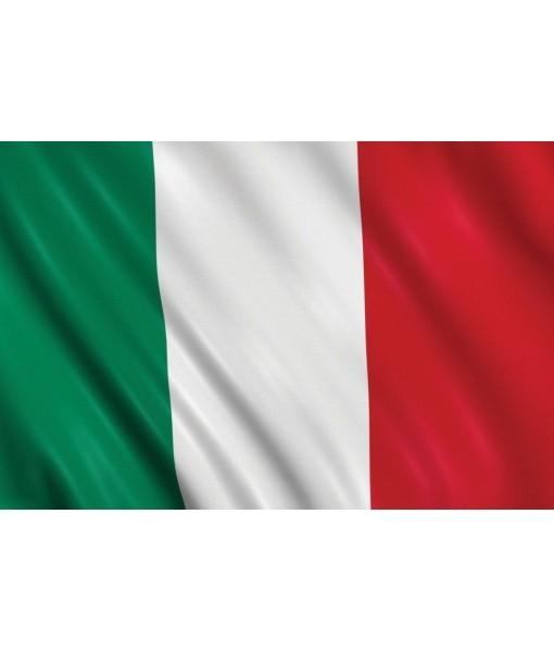BANDIERA ITALIA TRICOLORE ITALIANA grande cm. 100 x 150