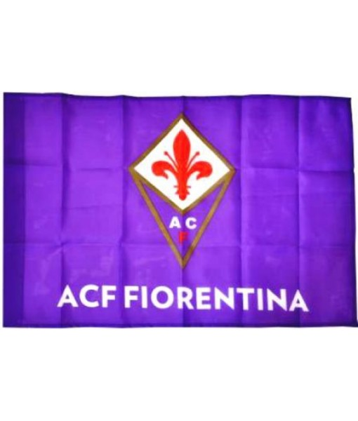 BANDIERA FIORENTINA UFFICIALE VIOLA FLAG cm. 50 x 75
