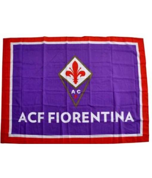 BANDIERONE FIORENTINA UFFICIALE BANDIERA VIOLA FLAG GRANDE cm. 140 x 190