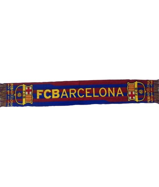 SCIARPA BARCELLONA UFFICIALE JAQUARD FC BARCELONA