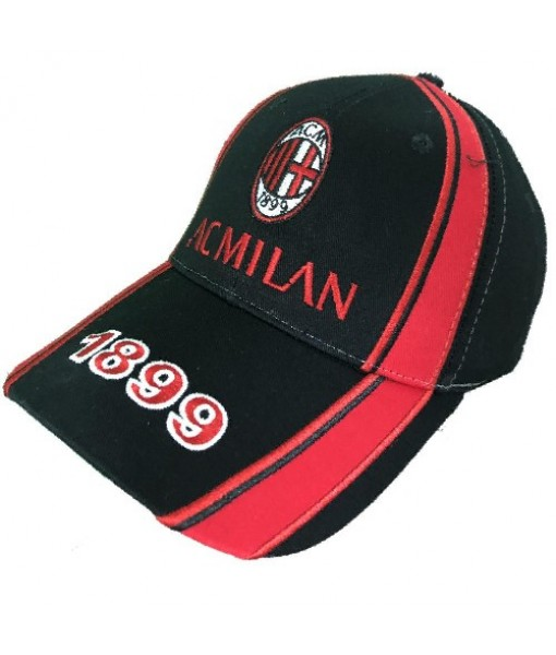 CAPPELLO MILAN UFFICIALE BAMBINO 1899 NERO