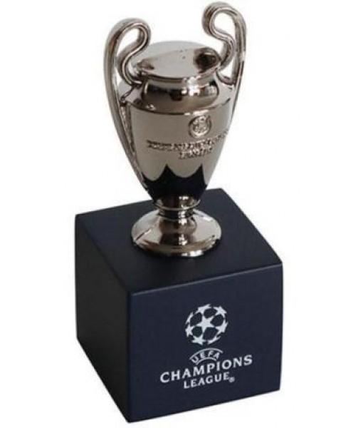 MINIATURA COPPA UEFA CHAMPIONS LEAGUE UFFICIALE altezza 70 mm. RIPRODUZIONE in 3D