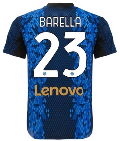 MAGLIA BARELLA INTER UFFICIALE 2021-2022 HOME 23 ADULTO e BAMBINO