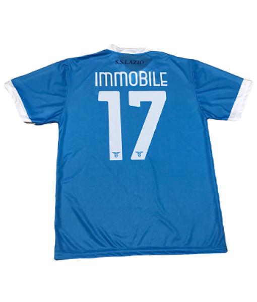 MAGLIA IMMOBILE LAZIO UFFICIALE 2021-2022 HOME 17 ADULTO e BAMBINO