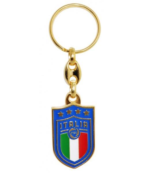PORTACHIAVI ITALIA F.I.G.C. UFFICIALE in METALLO | PORTACHIAVE ITALIA
