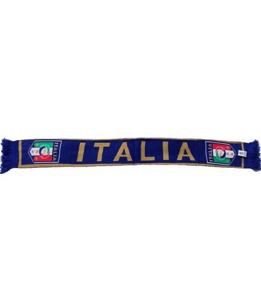 SCIARPA ITALIA F.I.G.C. UFFICIALE TUBOLARE INGLESE in ACRILICO